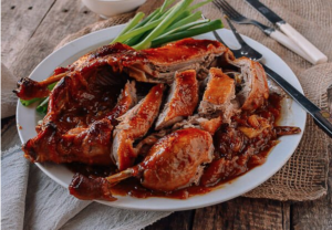 Duck meat is in season during autumn
