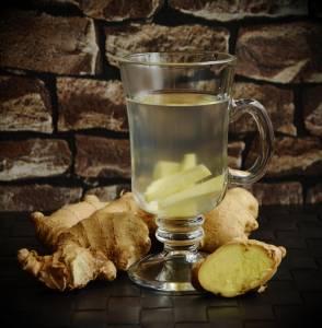 ginger tea, good for its anti-inflammatory properties