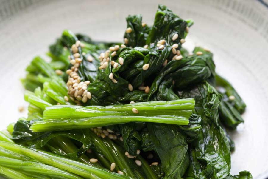 Sautéed Spinach & Sesame Recipe