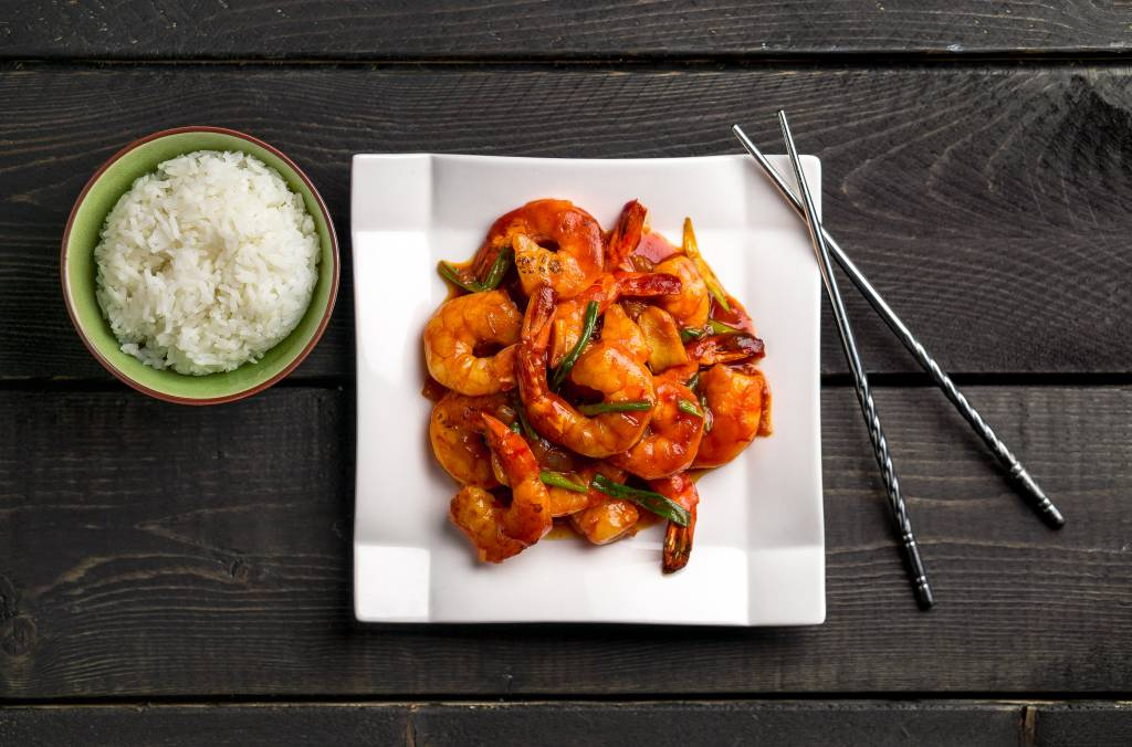 Chinese Shrimp and Tomato Sauce Recipe
