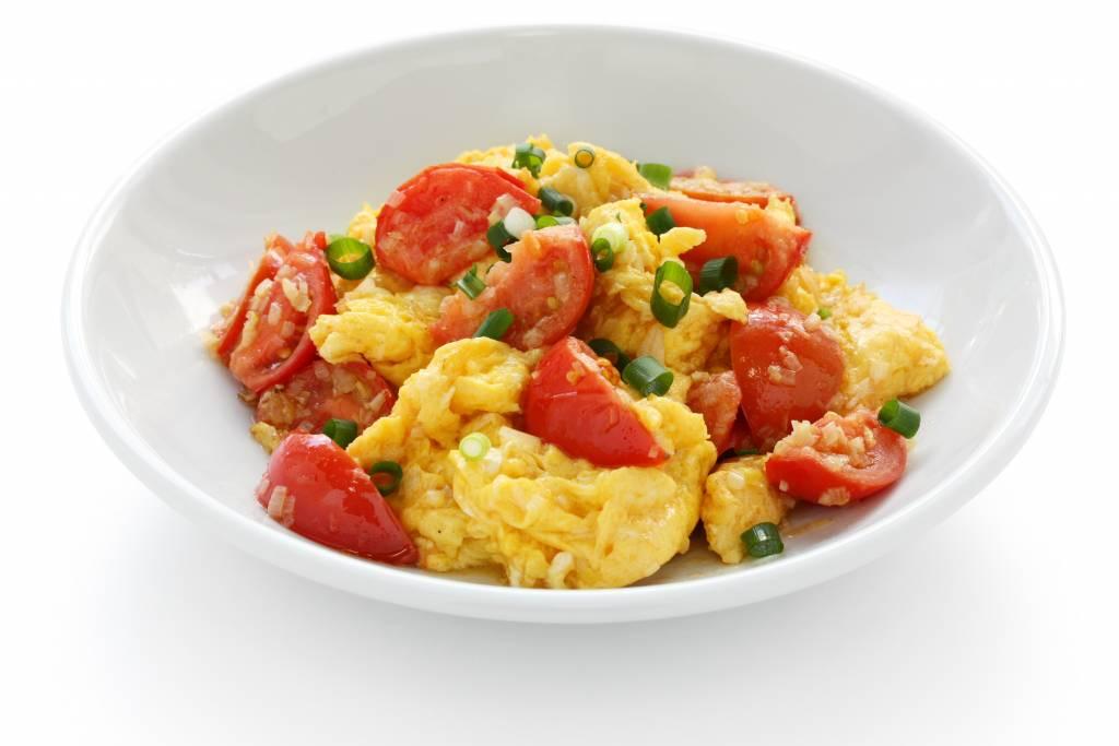 Tomato and Egg Stir-Fry Recipe