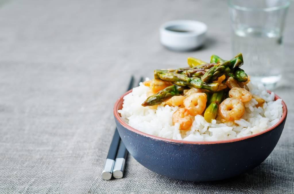 Asparagus & Shrimp Stir-Fry Recipe