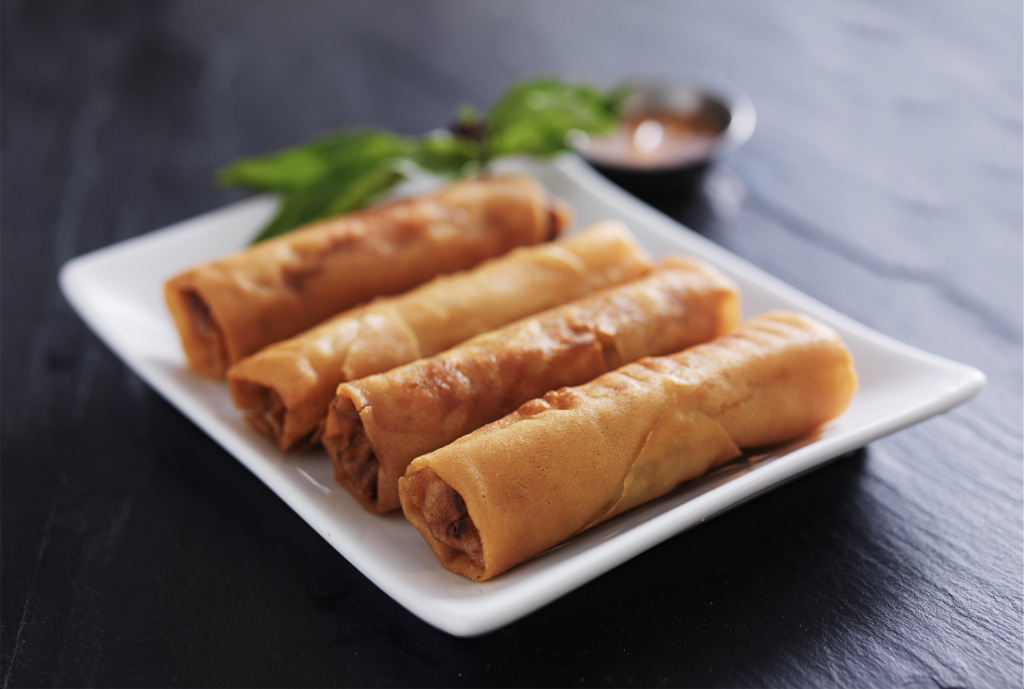 Crispy Chicken Spring Rolls Recipe
