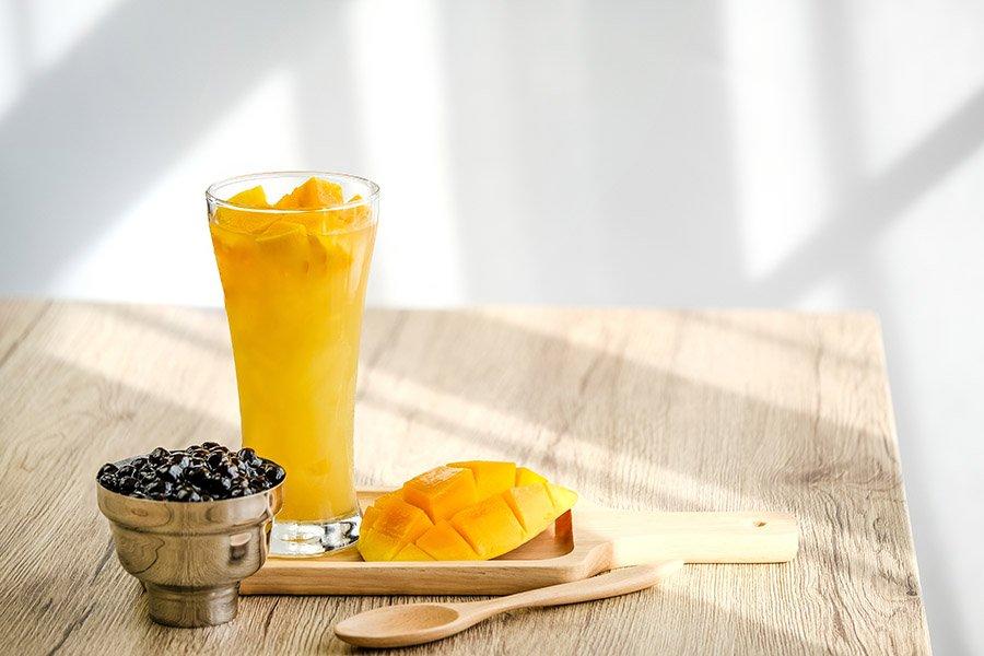 Mango Smoothie with Tapioca Recipe