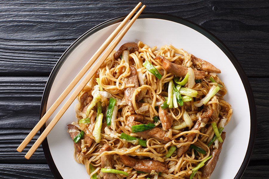 Shanghai Fried Noodles Recipe