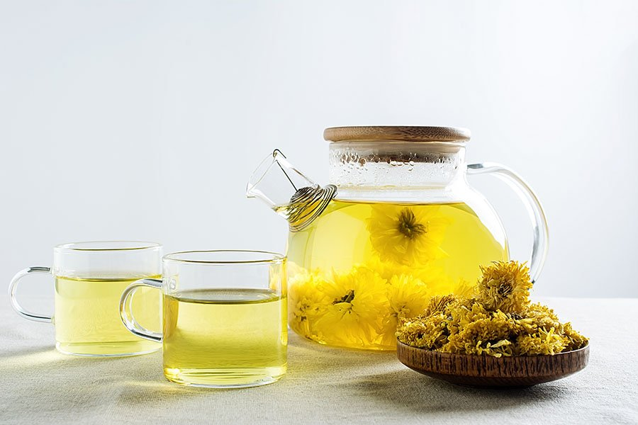 Chrysanthemum Herbal Tea Recipe