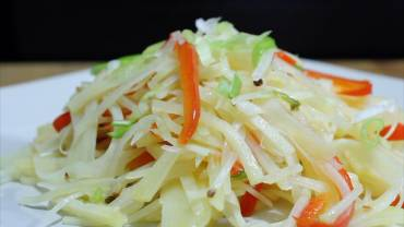 Hot & Sour Shredded Potato Video