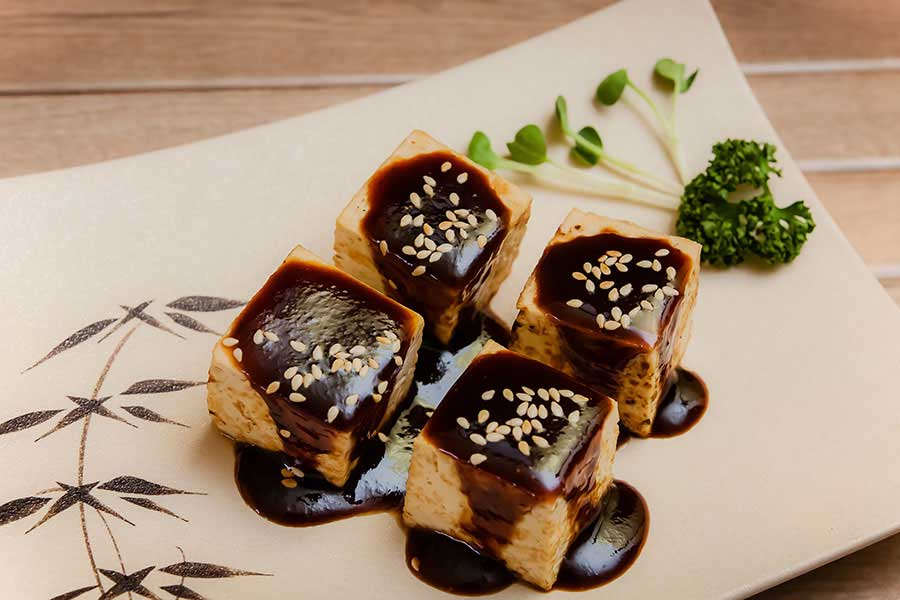 Tofu with Miso Glaze Recipe