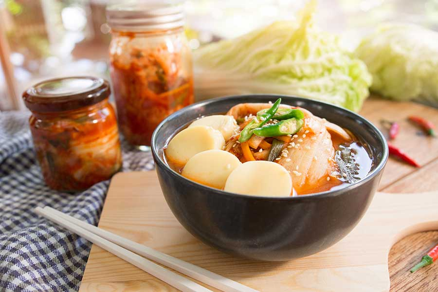 Kimchi Tofu Soup Recipe