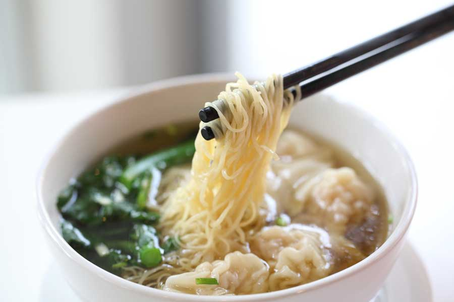 wonton noodle soup recipe  dumpling connection