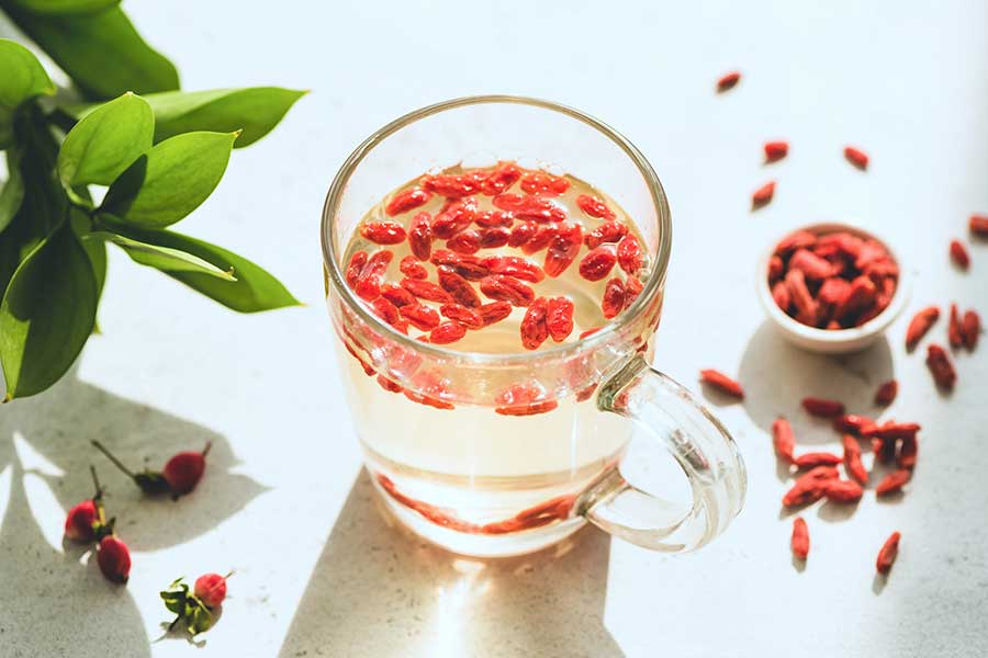 Goji Berry Ginger Tea Recipe
