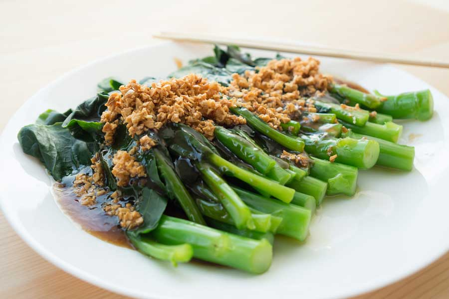 Chinese Broccoli with Garlic Sauce Recipe