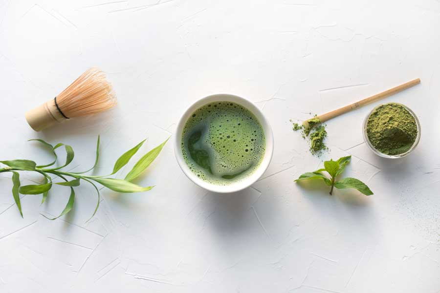 Matcha Tea for Relaxation