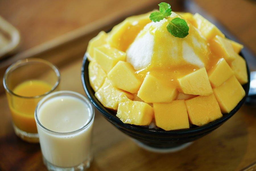 Bingsu (Korean Shaved Ice) Recipe